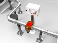 Smagnetizzatori in linea inseriti in catene di trasferimento flessibili per la smagnetizzazione del pezzo singolo