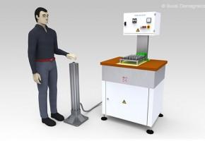Smagnetizzatori fuori linea e manuali, per la smagnetizzazione dei pezzi singoli o posti all'interno di contenitori