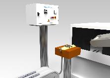 Smagnetizzatori in linea, inseriti in processi automatizzati con robot/manipolatore