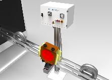 """Smagnetizzatori in linea inseriti in canali di rotolamento, serie """"D-V"""""""
