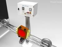 Smagnetizzatori in linea, inseriti in canali di rotolamento: smagnetizzazione del pezzo singolo